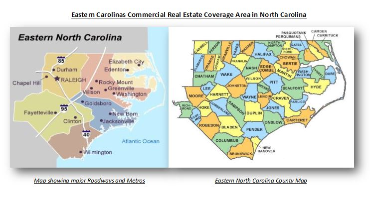 Eastern North Carolina County City Connections Eastern - Maps of north carolina cities