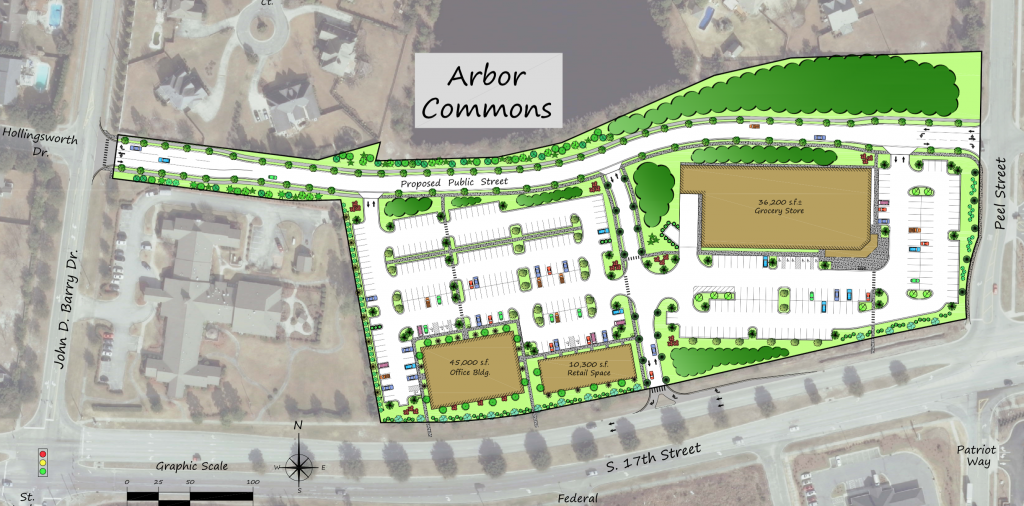 Arbor Commons Conceptual Site Plan