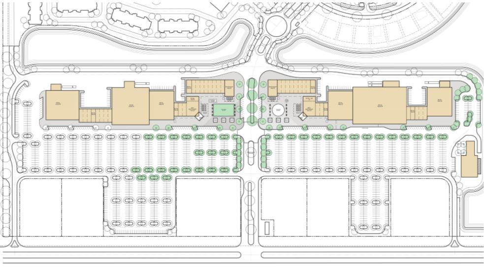 Site Plan at Retail